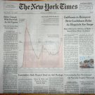 Virus Deaths a One Day Record NEW YORK TIMES Front Section December 4 2020