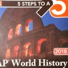5 Steps to a 5: AP World History - Paperback - Elite Student Edition