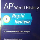 Kaplan AP WORLD HISTORY Rapid Review - Pristine