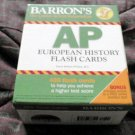 Barron's AP European History Flash Cards by David Phillips 2016