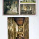 POSTCARDS - St Albans Abbey, Exterior and Interior Views ENGLAND UK