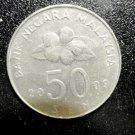 MALAYSIA Coin 50 Sen Cents 2009 Good KM53