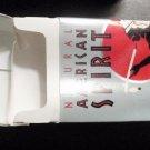 EMPTY Cigarette Box Collectible AMERICAN SPIRIT Blue Pack VA tax stamp EMPTY