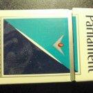 EMPTY Cigarette Box Collectible PARLIAMENT - pristine - DC tax label EMPTY