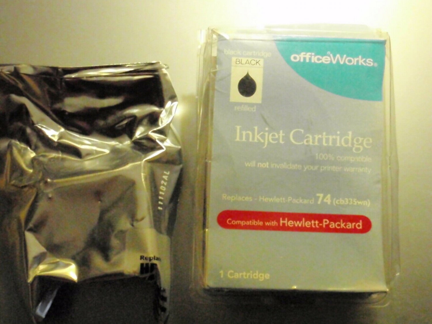 OfficeWorks Printer INK CARTRIDGE Compatible with HP74