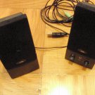 Cyber Acoustics CA-2016 Computer Speakers NEW NEVER USED FREE SHIP