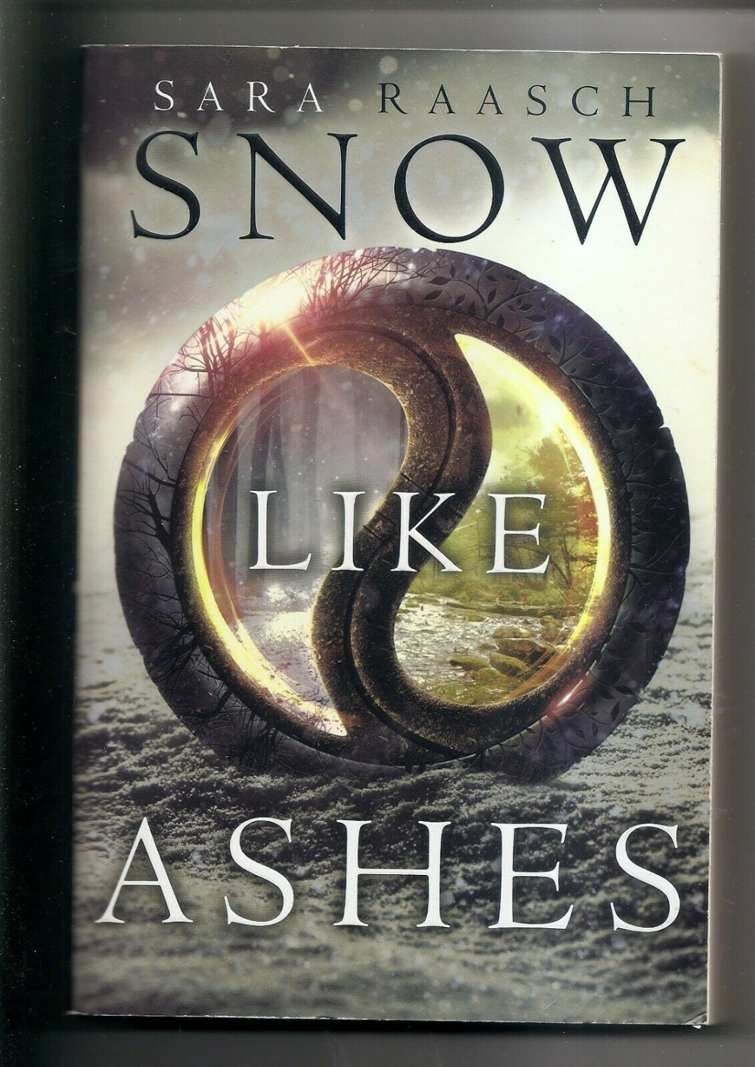 SNOW LIKE ASHES by Sara Raasch (2015, Trade Paperback) NEW