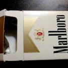 EMPTY Cigarette Box collectible MARLBORO Gold  - Virginia Tax label - EMPTY