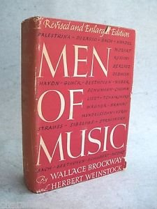 Men of Music: Their Lives, Times, and Achievements 1950 Revised Enlarged Edition