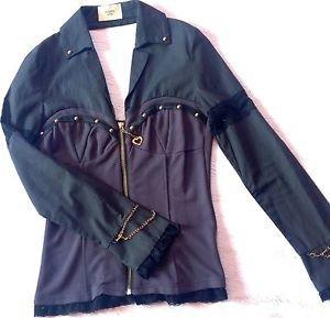 Golds Infinity Black Business Top Size S Gyaru Fashion