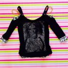 Real MA*RS Black Top with Chains Size S Japanese Fashion