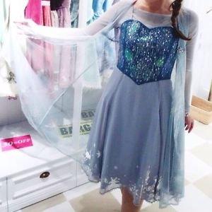 Authentic Disney Frozen Elsa's 3 Piece Set Dress by Secret Honey Japan
