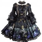 Metamorphose Witch In The Forest Princess Sleeve Dress in Gray Lolita Fashion