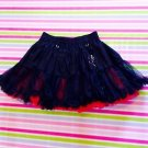 Mad Girl Black Red Gothic Lolita Punk Skirt Size S