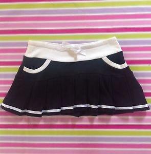 Tralala Black Sporty Mini Skirt Size S Japanese Fashion