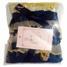 Metamorphose Vintage Cameo Frilled Wristband (set of 2) in Navy Lolita Fashion
