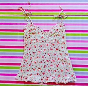 Liz Lisa Floral Top Size XS New With Tags