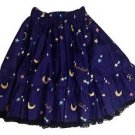 Metamorphose Crown Label Sweet Shooting Star Skirt in Purple Lolita Fashion