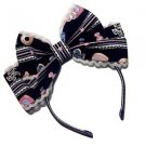 Angelic Pretty Whip Factory Headband in Black Lolita Fashion