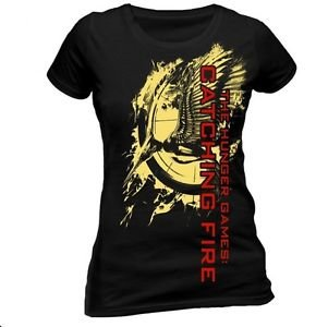 The Hunger Games Catching Fire Official Mockingjay T-Shirt