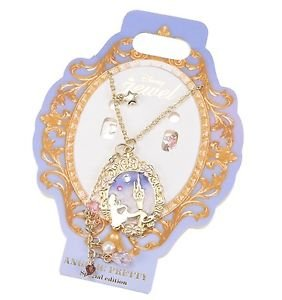 Angelic Pretty x Disney Store Japan Collaboration Dreamy Luna Lolita Necklace