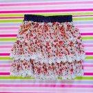 Axes Femme Floral Gyaru Skirt Size S