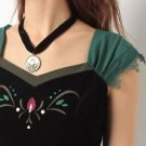 Authentic Princess Anna's Choker Necklace Frozen Secret Honey Disney Collection