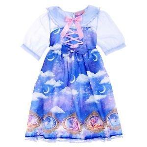 Angelic Pretty x Disney Store Japan Dreamy Luna Rapunzel Lolita JSK Dress