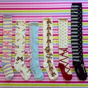 Lolita Socks Angelic Pretty, BTSSB, Emiliy Temple Cute, Harajuku Fashion Japan