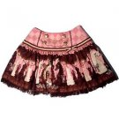 Angelic Pretty Chess Chocolate Skirt in Pink Lolita Fashion