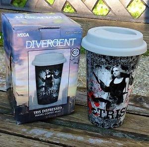 DIVERGENT Tris Distressed Travel Ceramic Coffee Mug Official NECA Merchandise