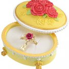 Disney Store Japan Beauty and the Beast Enchanted Rose Ring in Luxury Gift Box
