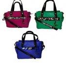 DVF Diane Von Furstenberg Leather Shoulder Bag Satchel w/ Wristlet U CHOOSE! NWT