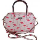 Kate Spade Newbury Felix Flamingo Medium Satchel Shoulder Bag Crossbody Pink