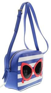 Kate Spade Make A Splash Mindy Shoulder Bag Crossbody Sunglasses Blue White