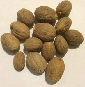 1 oz. Nutmeg Whole (Myristica fragrans) Organic & Kosher India