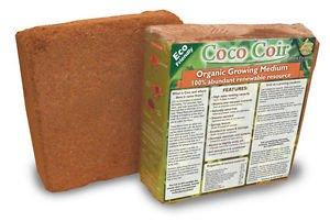 5 X 5kg Bricks (55.5 LBS.) Coconut Coir Coco Coir Soil Amendment Growing Medium
