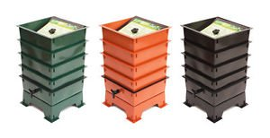 Worm Factory 360 with/out 1 lb Red Wiggler Worms Composter Complete Kit w/DVD