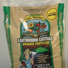 4.5 Lb. Wiggle Worm Soil Builder Earthworm Castings OMRI Listed Organic Fert.