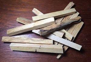 4 oz. Palo Santo Incense Sticks Machine Cut (Bursera graveolens)  Organic Peru