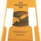 ADAIRS WHITE BOARD BAT Paddle Move Magic Trick 2 Color Pens Book Booklet Hot Rod