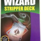 101 TRICKS With A STRIPPER DECK BOOK Magic Cards Wizard Tapered Magician Booklet