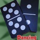 DANCING DOMINOS Magic Trick Hopping Spots Black White Dots Shell Set Chips Joke