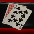 TWO CARD MONTE 2 Wallet Magic Trick Bicycle Con Game