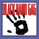 Comedy BLACK HAND GAG Napkin Dirty Kid Print White Towel Clown Magic Trick Joke