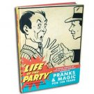 LIFE OF THE PARTY S.S. Adams Co. Joke Prank Book Magic Trick Gag History Toys