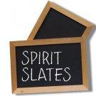 SPIRIT SLATES MAGNETIC BLACK BOARD Magic Trick Mental ESP Mind Prediction Chalk