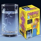 1 DRIBBLE WATER GLASS Real Drinking Gag Prank Practical Joke Trick Leak Dripping