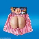 MOONING PARTY SHORTS Funny Fake Butt Bum Cheeks Boxers Foam Joke Prank Underwear