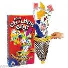 SILVER CHANGE BAG Plastic Magic Trick Black Dots Clown One Hand Beginner Vanish